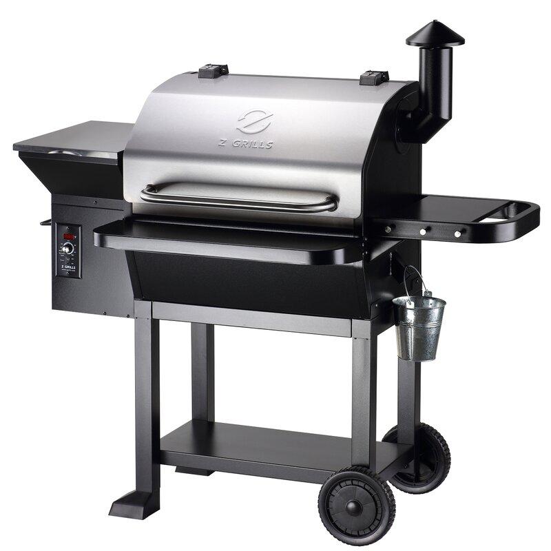 "Z Grills 54"" Wood Pellet Grill | Wayfair"