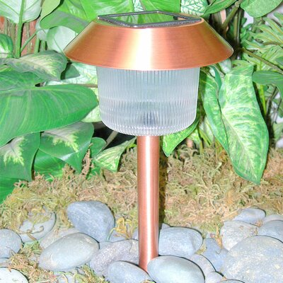 Homebrite Solar Homebrite Belmont Copper Solar Pathway Light set of 12