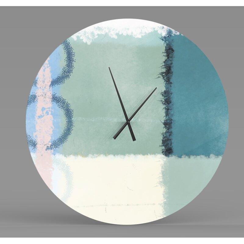 Ebern Designs Xenodochial Unfaltering Abstract Metal Wall ...