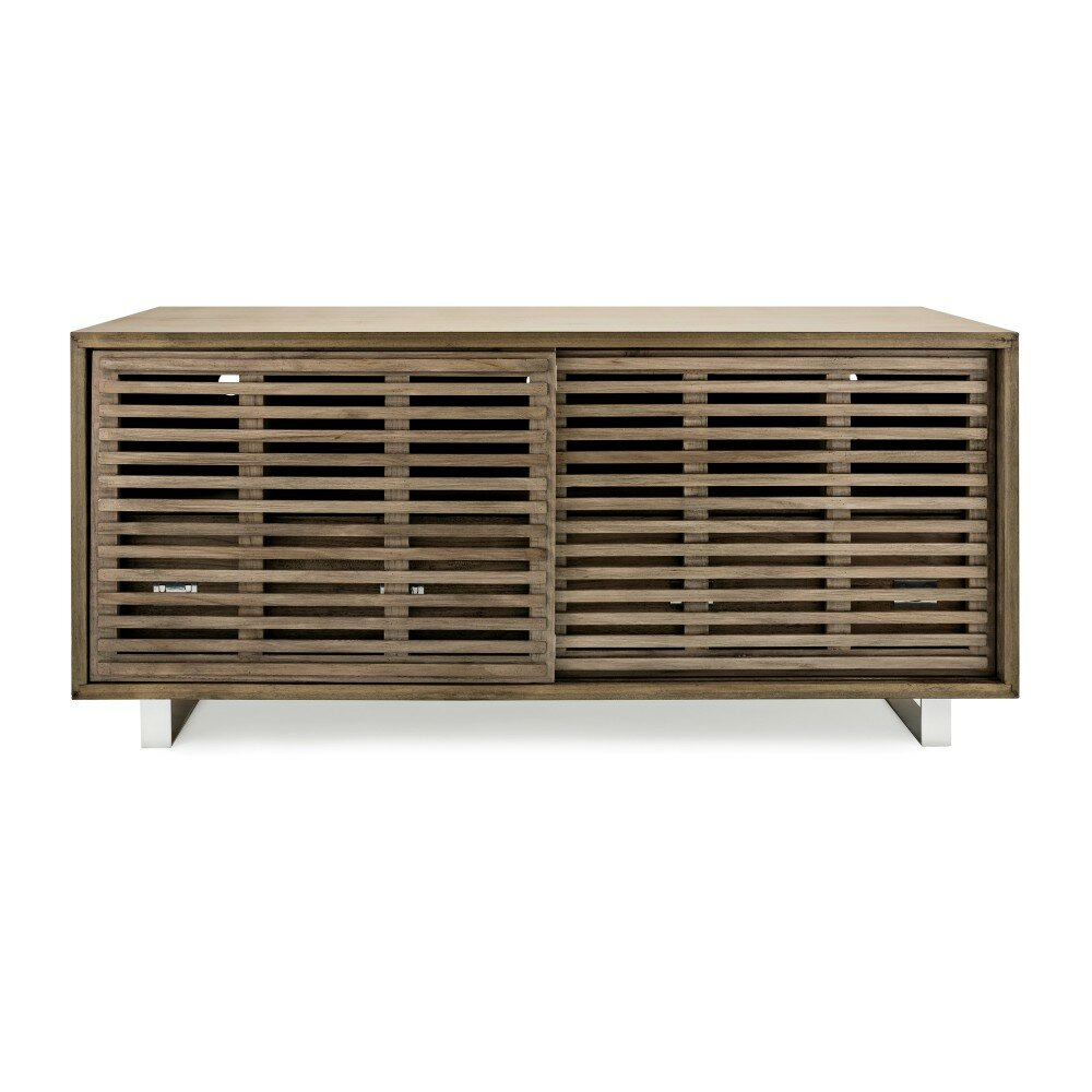 Brayden Studio Bolivar Paulownia Wood Console Table Wayfair
