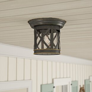 Vincent Outdoor Flush Mount by Breakwater Bay