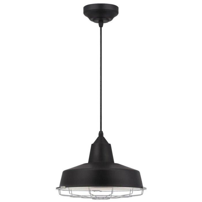 Awe Inspiring Edelman 1 Light Led Single Dome Pendant Uwap Interior Chair Design Uwaporg