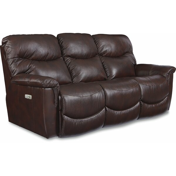 La Z Boy James LA Z TIME® POWER RECLINE Sofa With Power Headrest | Wayfair