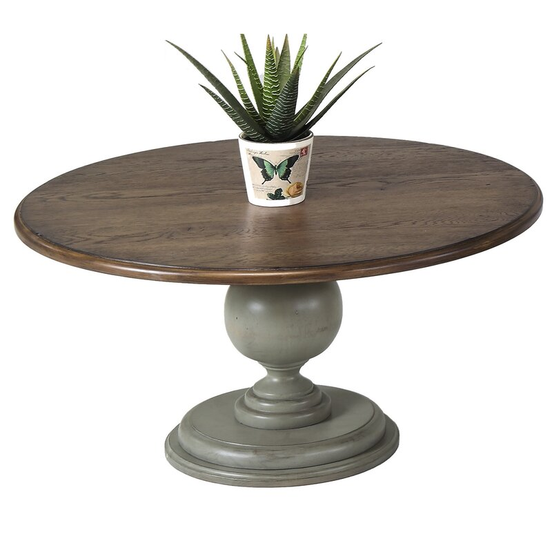 Gentil Serpentaire Round Pedestal Coffee Table