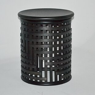 Lattice End Table