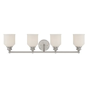 Bargain Genevieve 4-Light Vanity Light By Charlton Home
