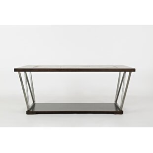 Wallsend Wood and Metal Coffee Table