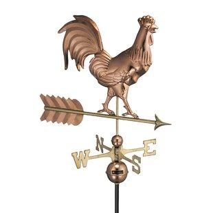 Broomsedge Rooster Weathervane Image