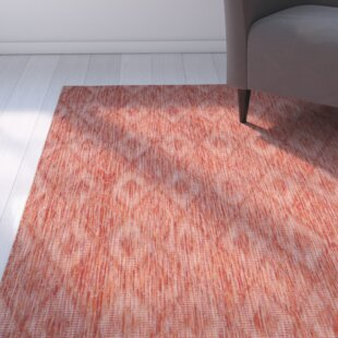 Brodie Red Indoor/Outdoor Area Rug
