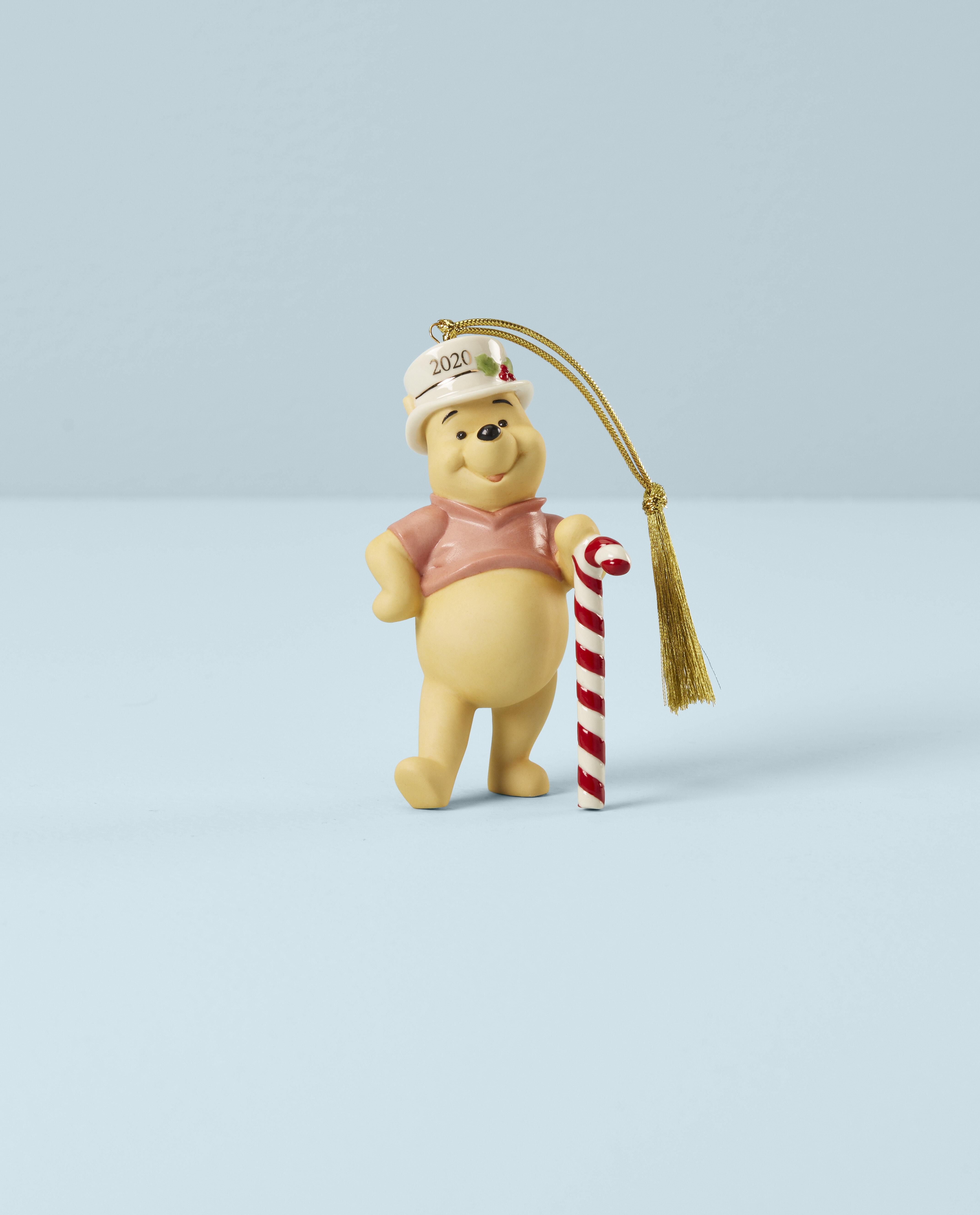 Lenox 2020 Christmas Cheer Winnie The Pooh Hanging Figurine Ornament Wayfair