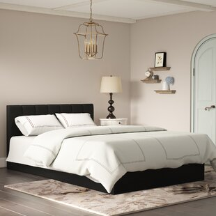Utley Queen Upholstered Storage Platform Bed