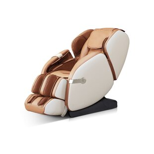 Faux Leather Reclining Massage Chair by Westinghouse