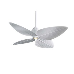 52 Gauguin Tropical 4 Blade Outdoor LED Ceiling Fan