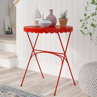 Wales End Table by Bungalow Rose Cool