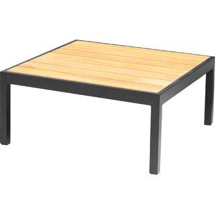 Review Denholme Teak/Aluminium Lounge Table