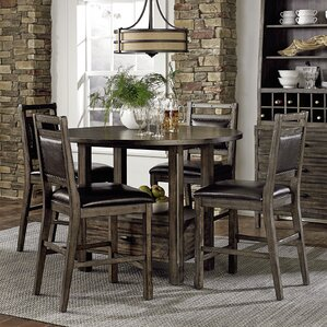 Altona 5 Piece Dining Set by Loon Peak