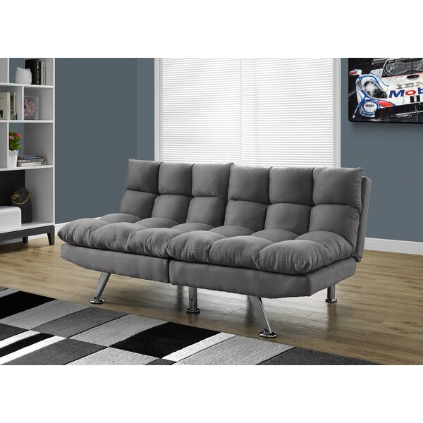 Monarch Specialties Inc. Convertible Sofa & Reviews