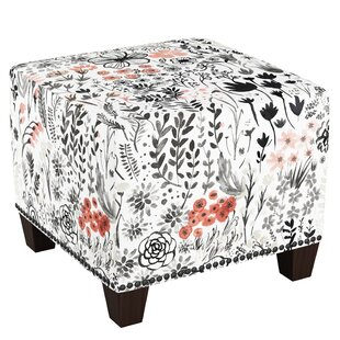 Steffey Cube Ottoman by Latitude Run