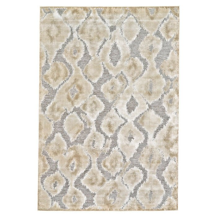 World Menagerie Ledesma Pewter Brown Area Rug Amp Reviews