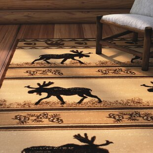 Affordable Iberide High-Quality Ultra Soft Berber/Black Area Rug By Loon Peak