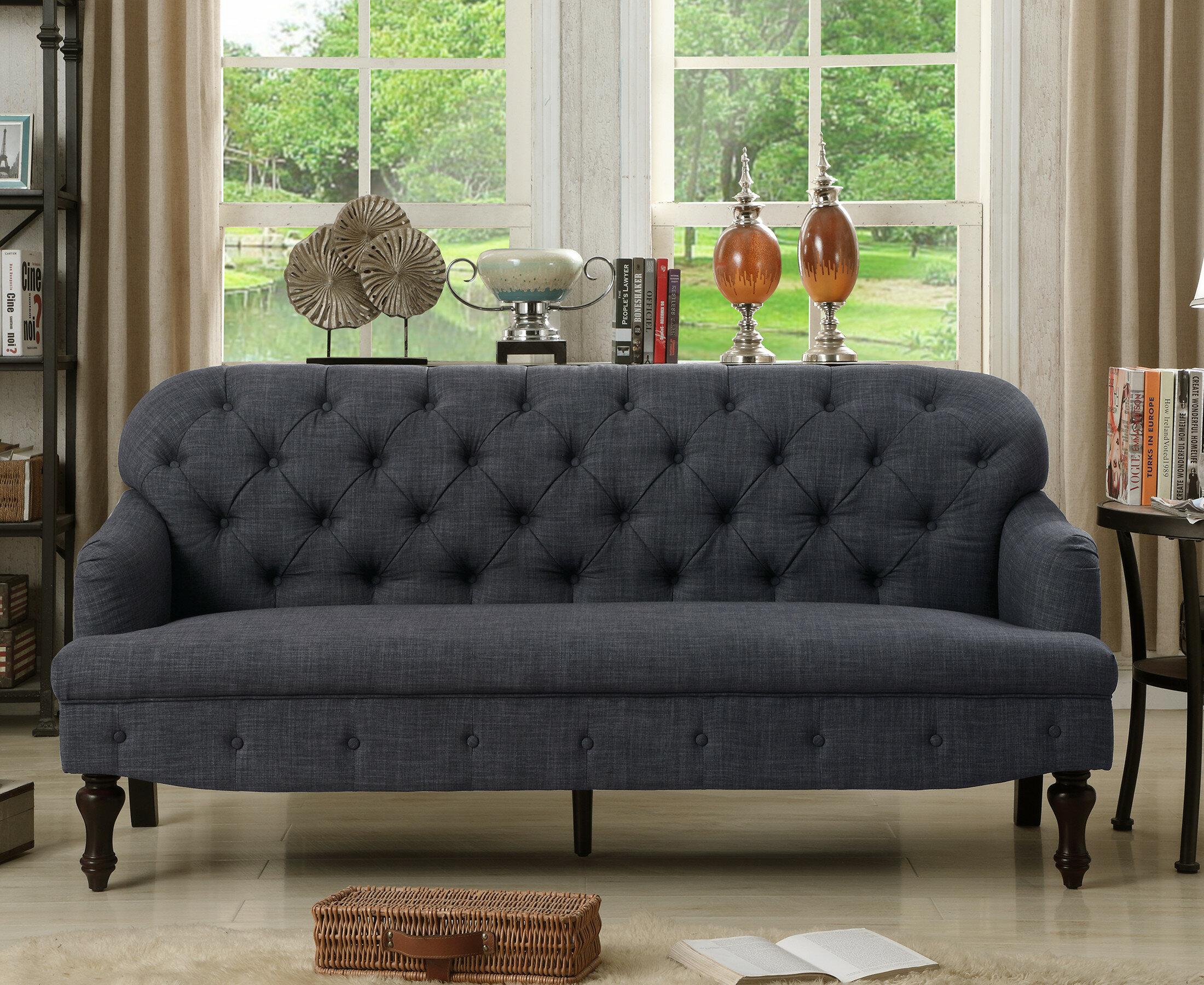 Fonzo tufted sofa reviews birch lane