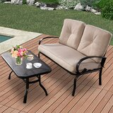 Nothview 2 Piece Bistro Set with Cushions