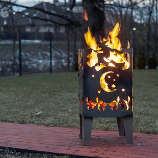 Hany Wood Burning Fire Pit By Sol 72 Outdoor