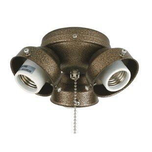 Find a 3-Light Ceiling Fan Turtle Fitter By Fanimation