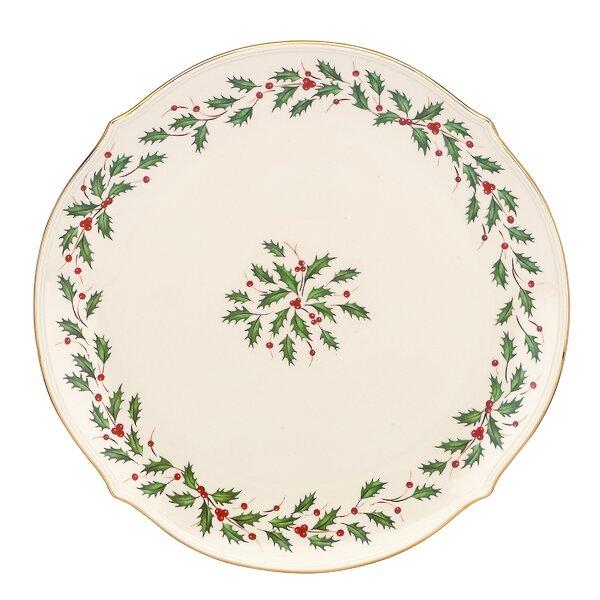 Lenox Holiday Round Platter Reviews Wayfair