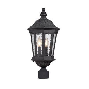 Fleur De Lis Living Alorton Run Outdoor 2-Light Lantern Head