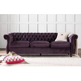 Snyder Chesterfield 84.5 Rolled Arm Sofa by Mercer41