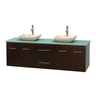Centra 72 Double Bathroom Vanity Set