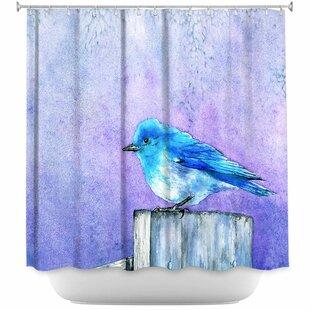Bird Bliss Single Shower Curtain