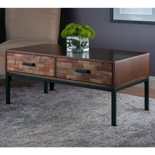 Arden Coffee Table by Loon Peak Top Reviews