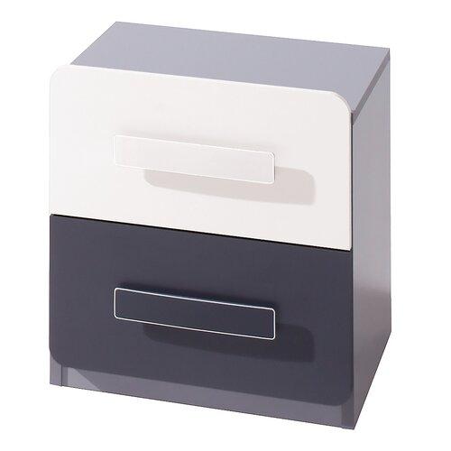Nachttisch mit 2 Schubladen dCor design   Schlafzimmer > Nachttische   dCor design