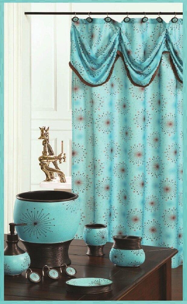 Derrek Decorative Single Shower Curtain