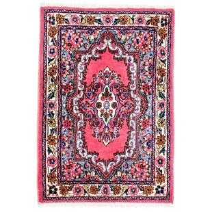 Handwoven Wool Pink Indoor/Outdoor Rug By Latitude Vive