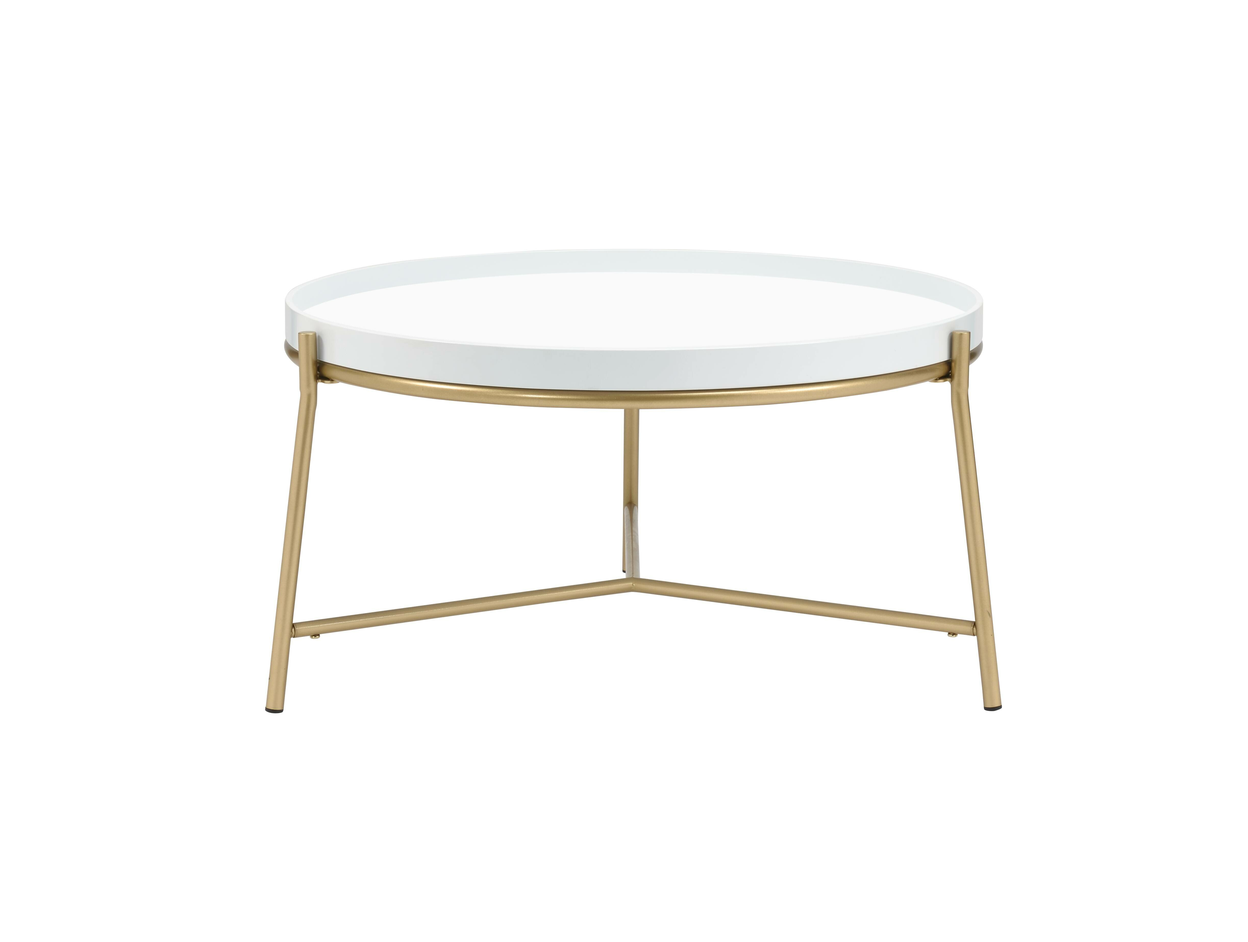 Mercer41 Spady 3 Legs Coffee Table Wayfair