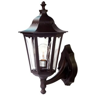 Mishra 1-Light Outdoor Sconce by August Grove Best #1