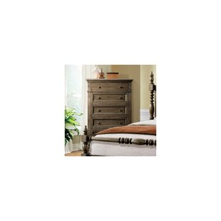 Gracie Oaks Hawk 5 Drawer Chest