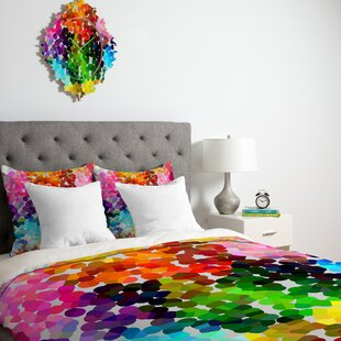 East Urban Home Polka Dots Duvet Cover Collection
