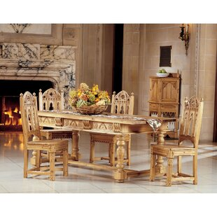 Sudbury 5 Piece Dining Set Design Toscano