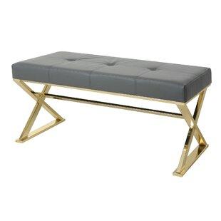 Jensen Upholstered Bench by Orren Ellis