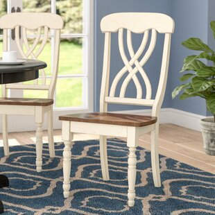 Chipps Solid Wood Dining Chair (Set of 2) Winston Porter