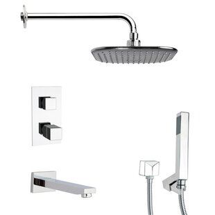 Remer by Nameek's Tyga Thermostatic Tub and Shower Faucet