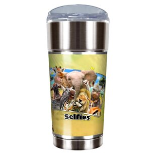 Africa Selfies 24 oz. Stainless Steel Travel Tumbler