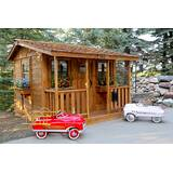 Cozy Cabin 9' x 7' Cedar Playhouse by Outdoor Living Today