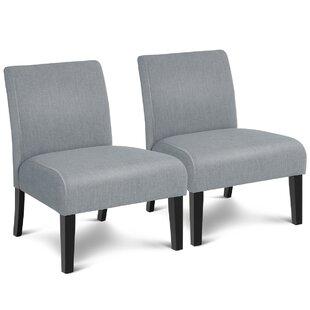 Adau Side Chair Set of 2 by Latitude Run