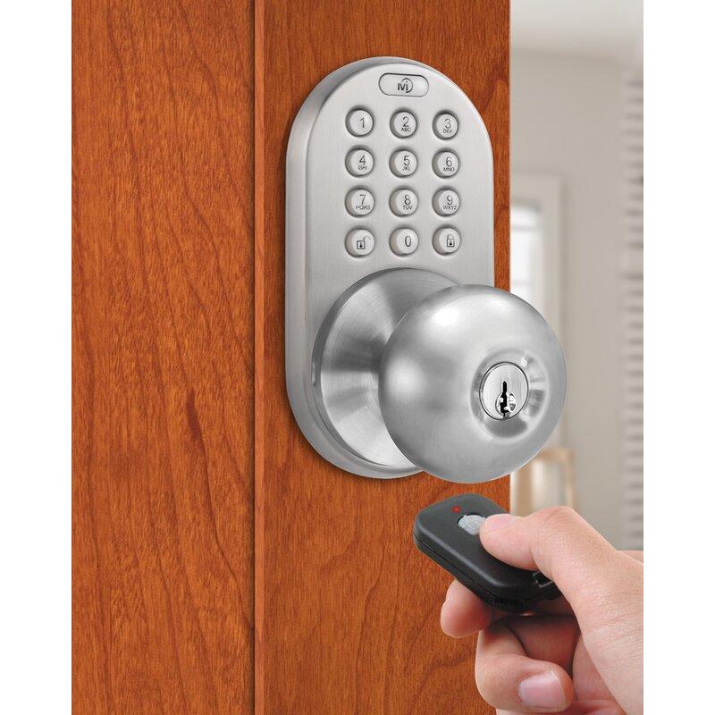 Keyless Door Entry >> Keyless Entry Door Knob With Remote