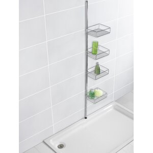 Domaso Telescopic Metal Wall Mounted Shower Caddy